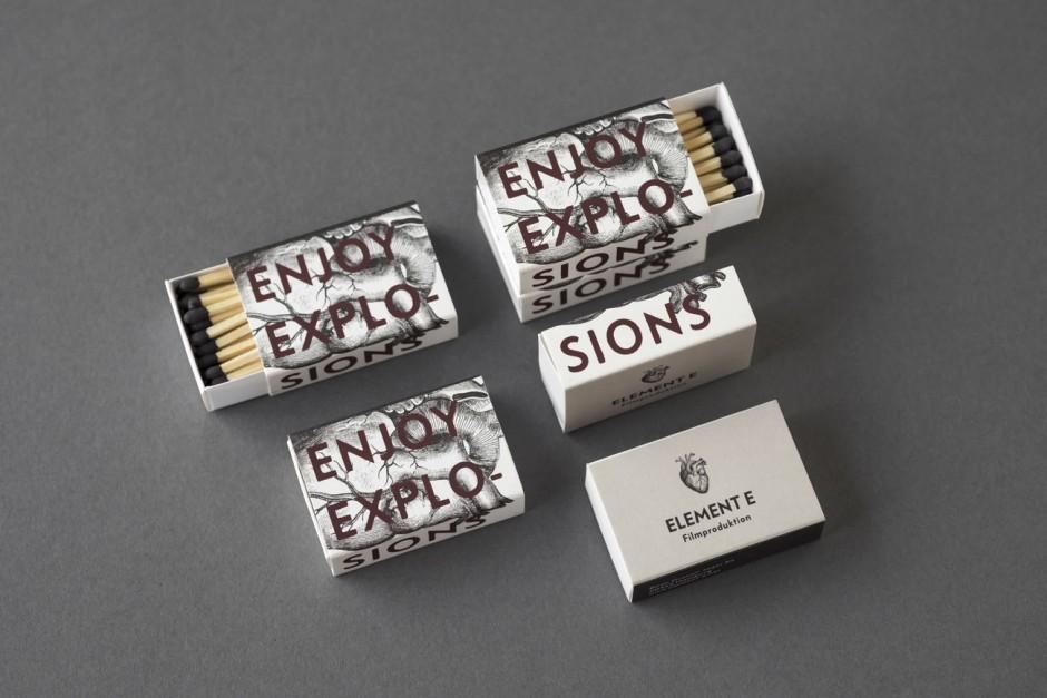 Element E – Streichhölzer