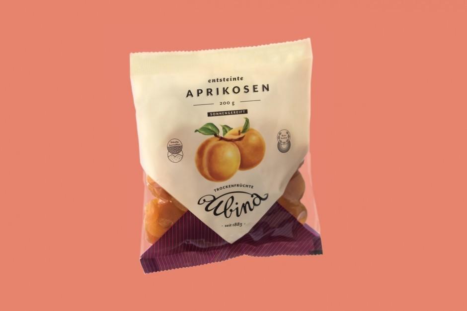 Ubina Trockenfrucht – Verpackung