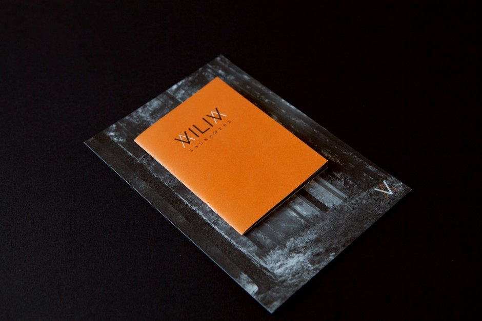 Viliv Saunawerk – Kleine Broschüre