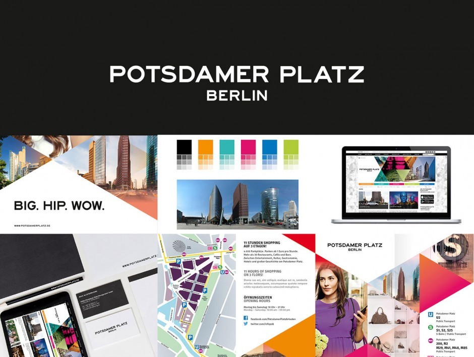 Potsdamer Platz - Corporate Design