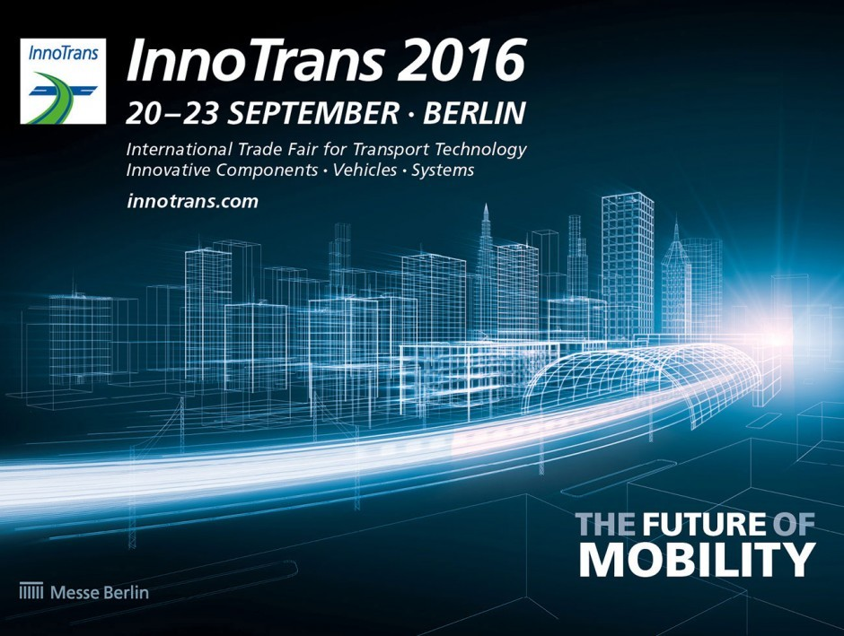 Messe Berlin - Keyvisual der InnoTrans 2016