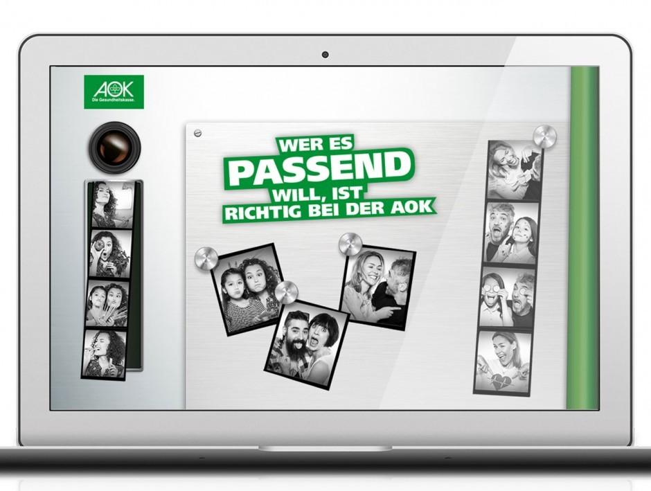 AOK Nordost - Kampagne »Facetten Deines Lebens« (Microsite)
