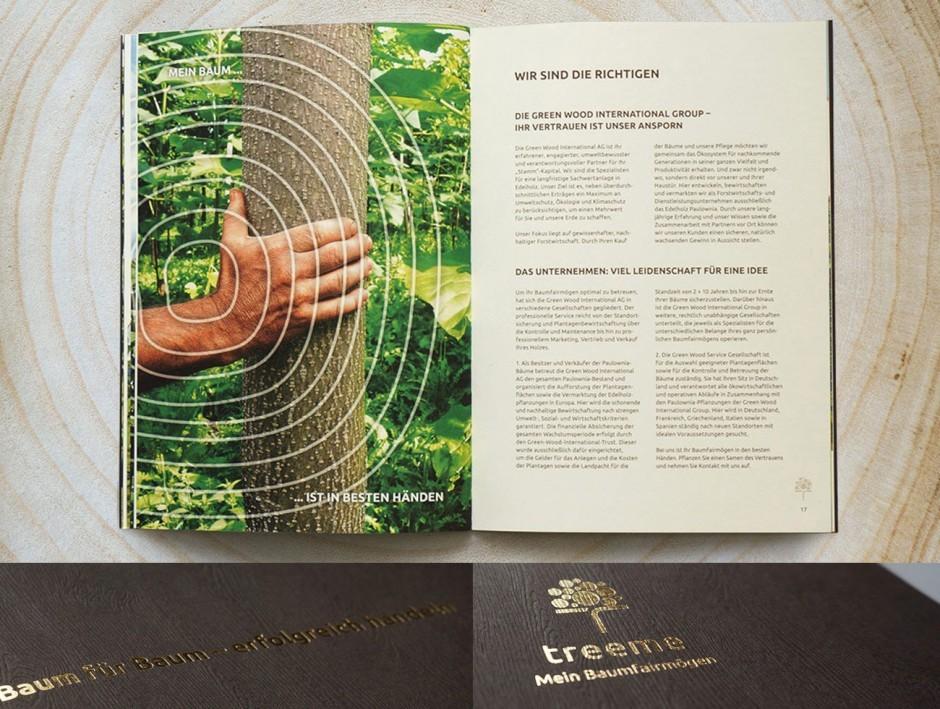 Treeme - Imagebroschüre