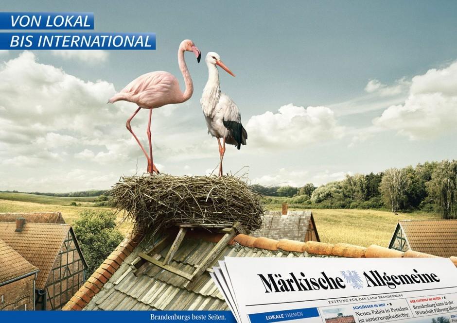 Märkische Allgemeine Zeitung - Kampagne »von lokal bis international« (18/1)