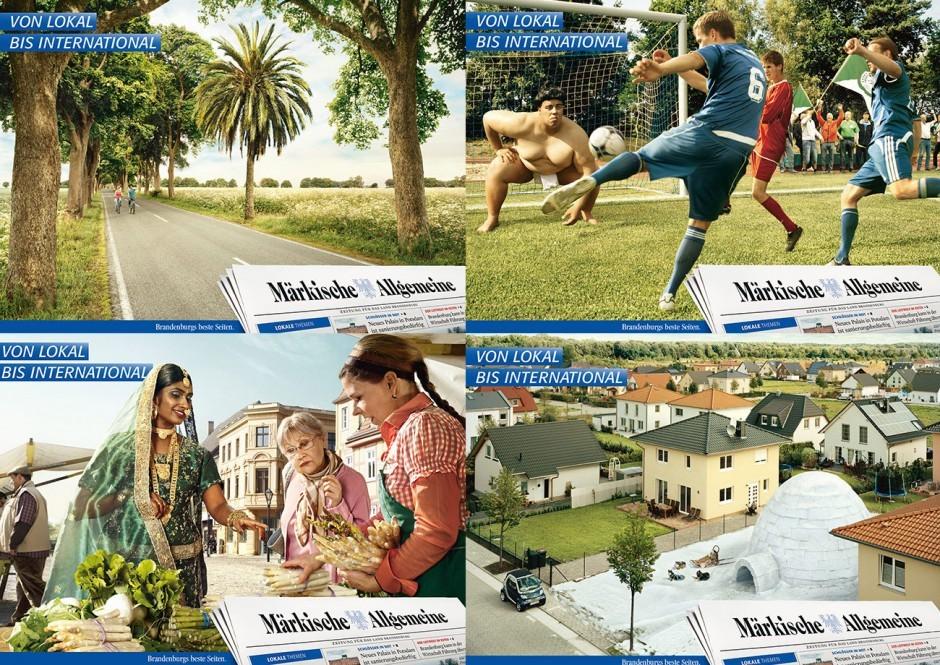 Märkische Allgemeine Zeitung - Kampagne »von lokal bis international« (Vielfalt 18/1)