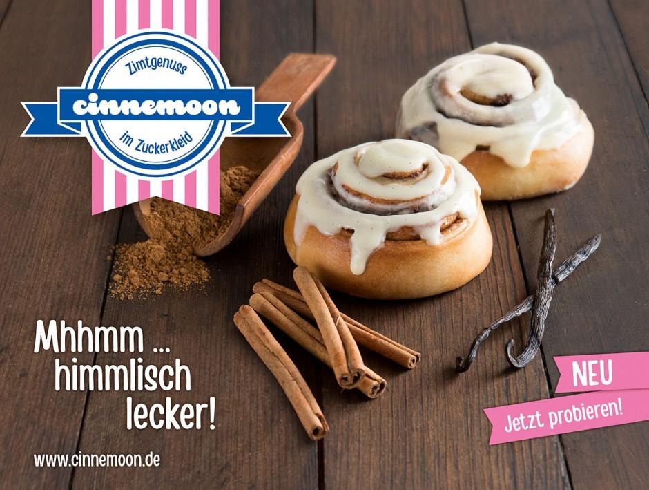 LnB - Produkteinführung Zimtschnecke »Cinnemoon«