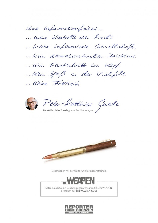 Peter-Matthias Gaede, Journalist bei Gruner + Jahr