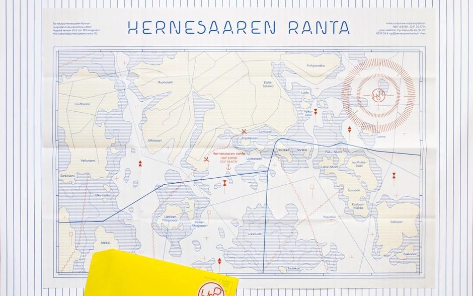 Hernesaaren Ranta Map