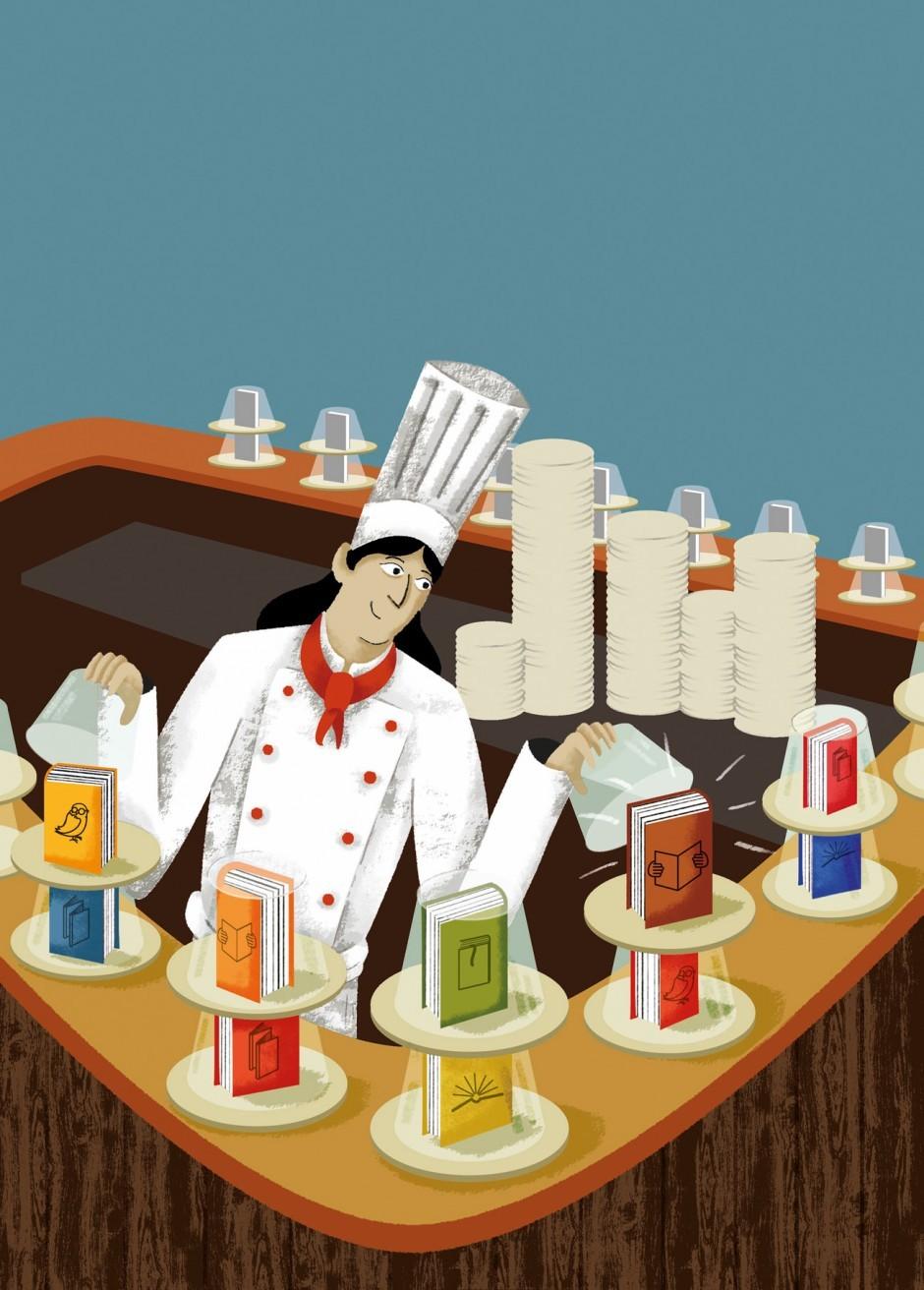 »Bäumchen wechsle Dich Spiel« zwischen Köchen und Buchverlagen