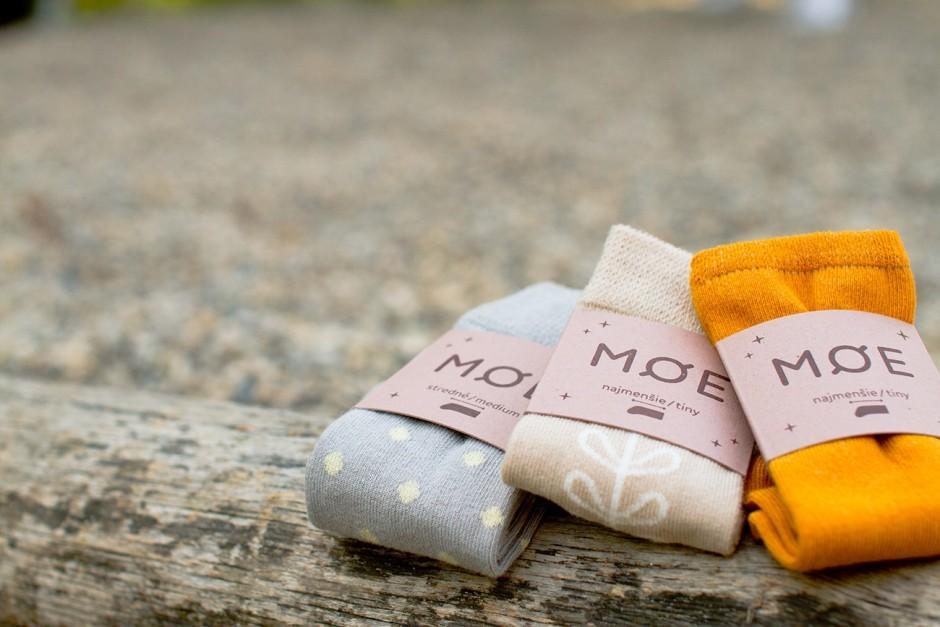 Møe designt minimalistische Socken nach skandinavischem Vorbild