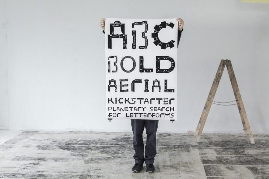 Aerial Bold Buildings - Plakat