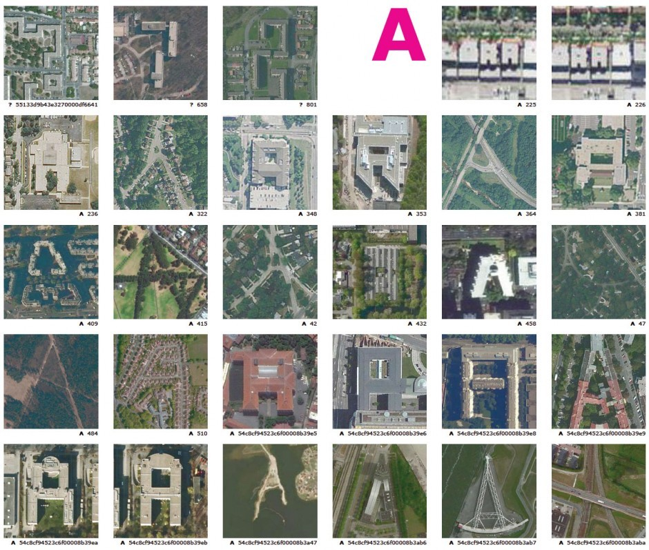 The Alphabet from the Sky - Print Katalog