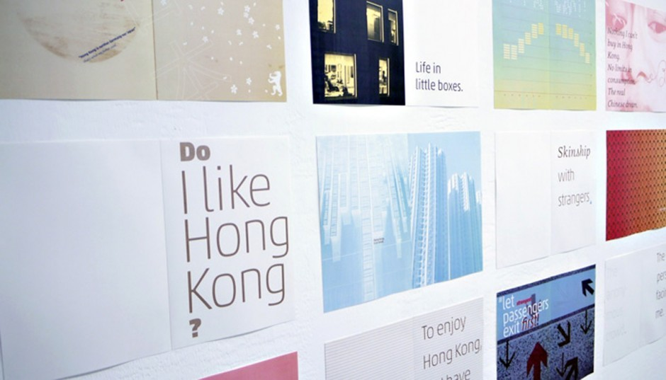 Die deutsch-japanische Designerin Mariko Takagi lebt seit 2010 in Hong Kong und lehrt dort an der Academy of Visual Arts, Hong Kong Baptist University. Seit Anbeginn ihres Aufenthalts hält sie Impressionen von der Stadt in einem visuellen Tagebuch fest.