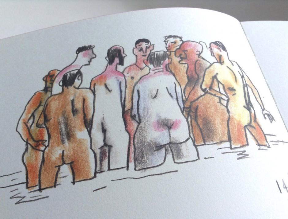 Aljoscha Blau: Ein Tag in Cap d'Agde, Kunstanstifter Verlag