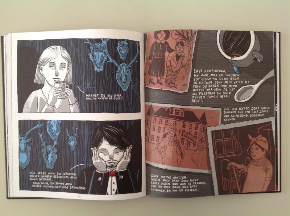 Gottfried Keller: Kleider machen Leute. Eine Graphic Novel von Martin Krusche, Edition Büchergilde