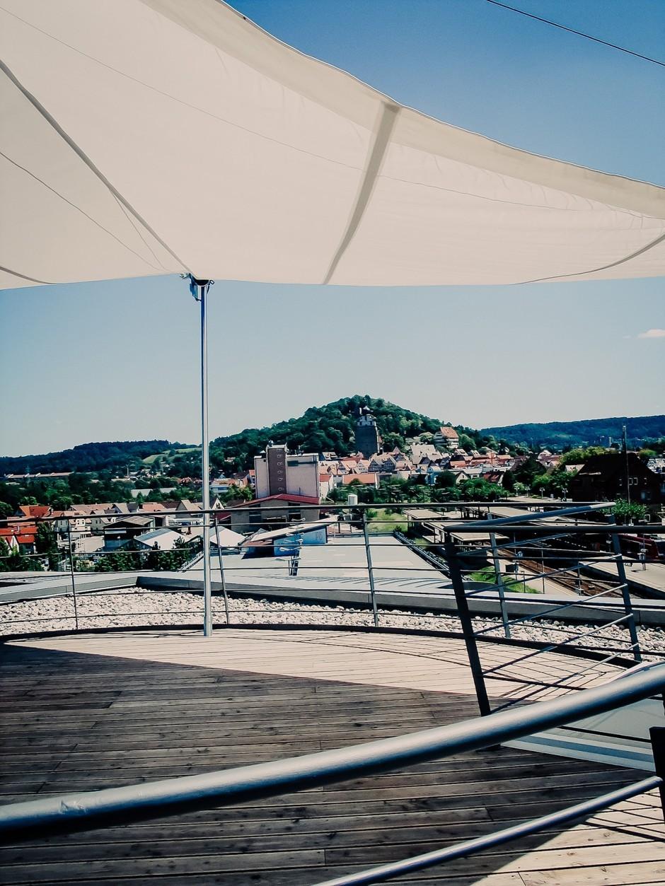 Ausblick über die Dächer von Herrenberg