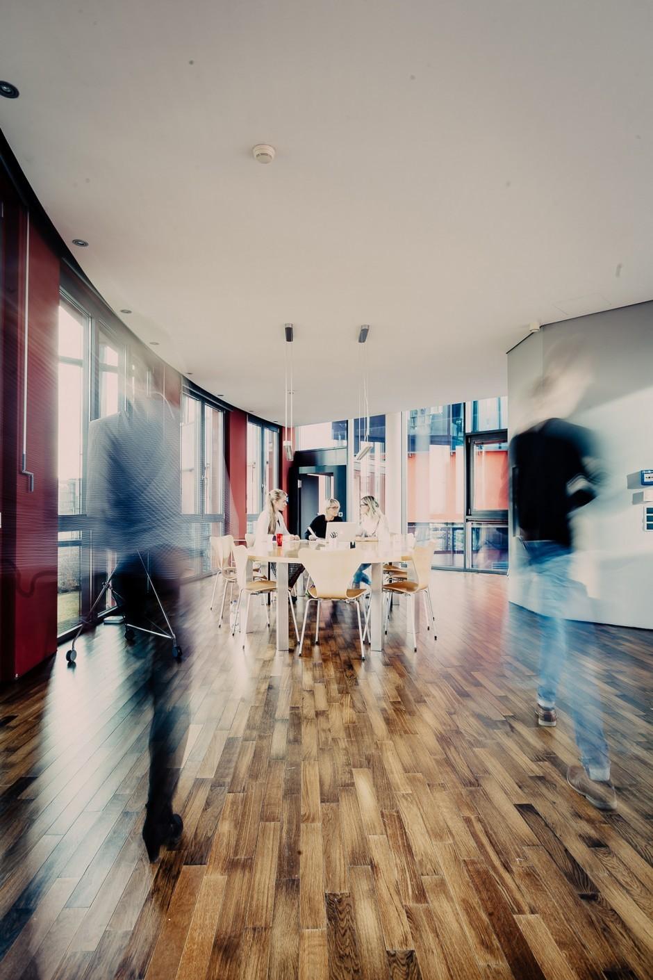 Arbeitsplatz Großraum
