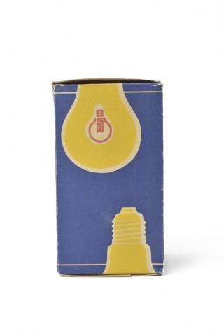 Verpackung Fotolampe für Bildvergrößerung,1962, Hersteller: Berliner Glühlampenwerk