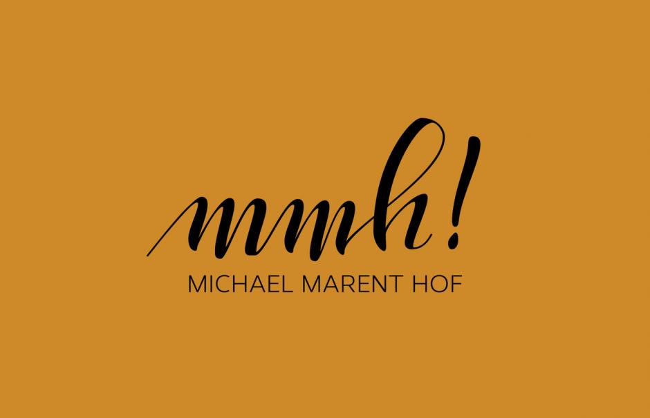 Lettering für »Michael Marent Hof« Logo, Branding Projekt mit Katja Mock, Katharina Schwarz und Klara Vith