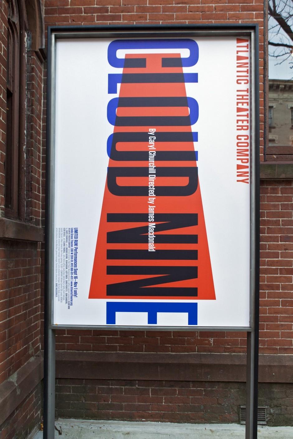 Pentagram/Paula Scher – Atlantic Theater Company