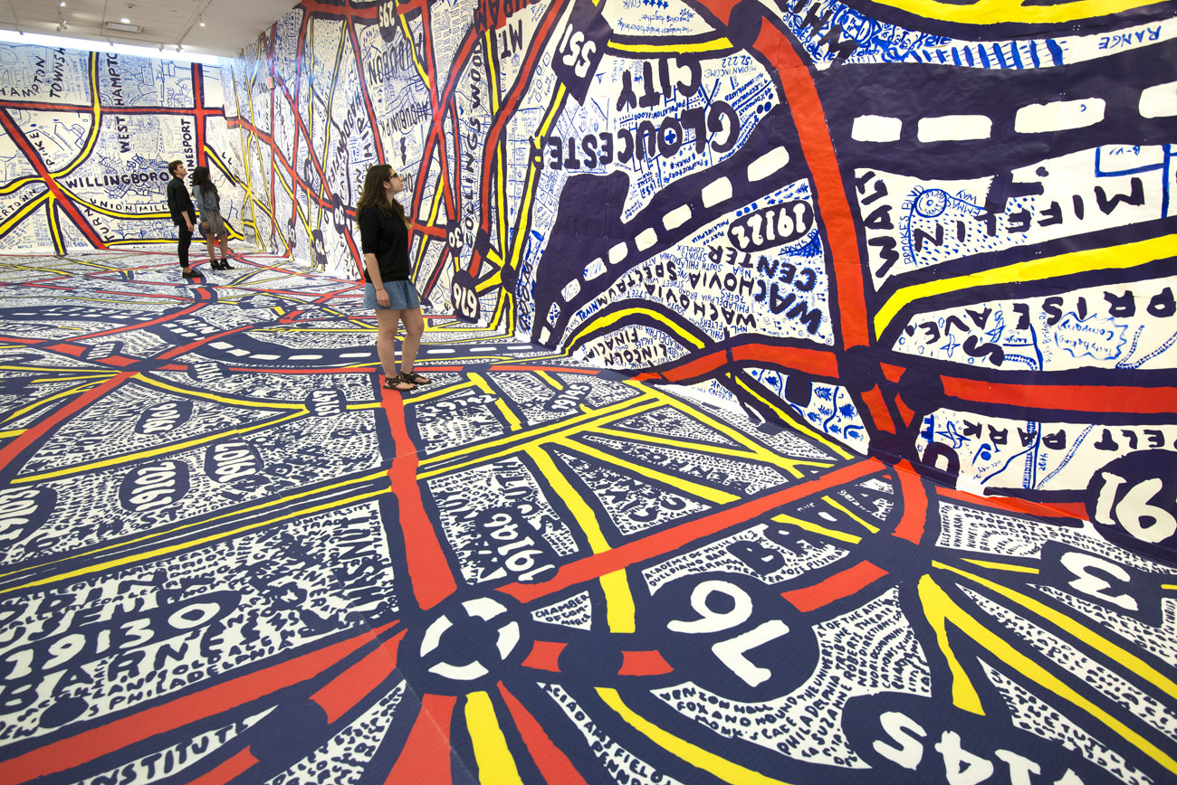Pentagram/Paula Scher – Philadelphia Explained