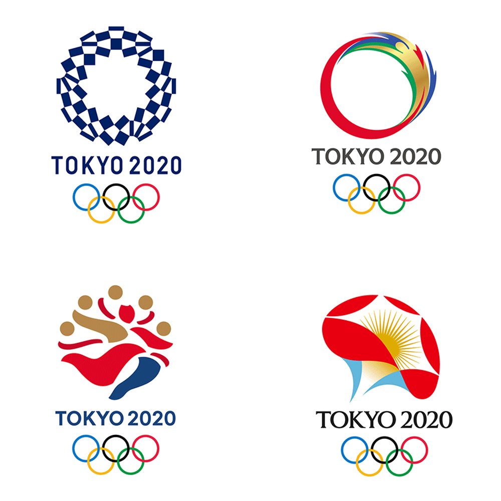 Olympia 2020, Tokyo, Olympische Spiele 2020, Logodesign