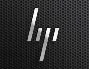 hp logo, hp, redesign