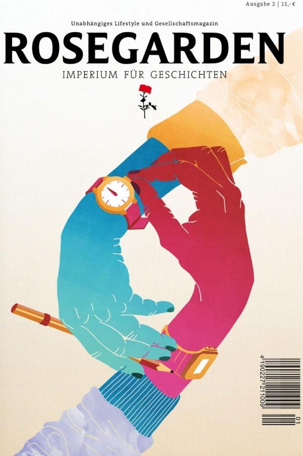Das Cover der zweiten Ausgabe von »Rosegarden« bebilderte Stephanie F. Scholz aus Berlin. http://www.stephanie-f-scholz.com/