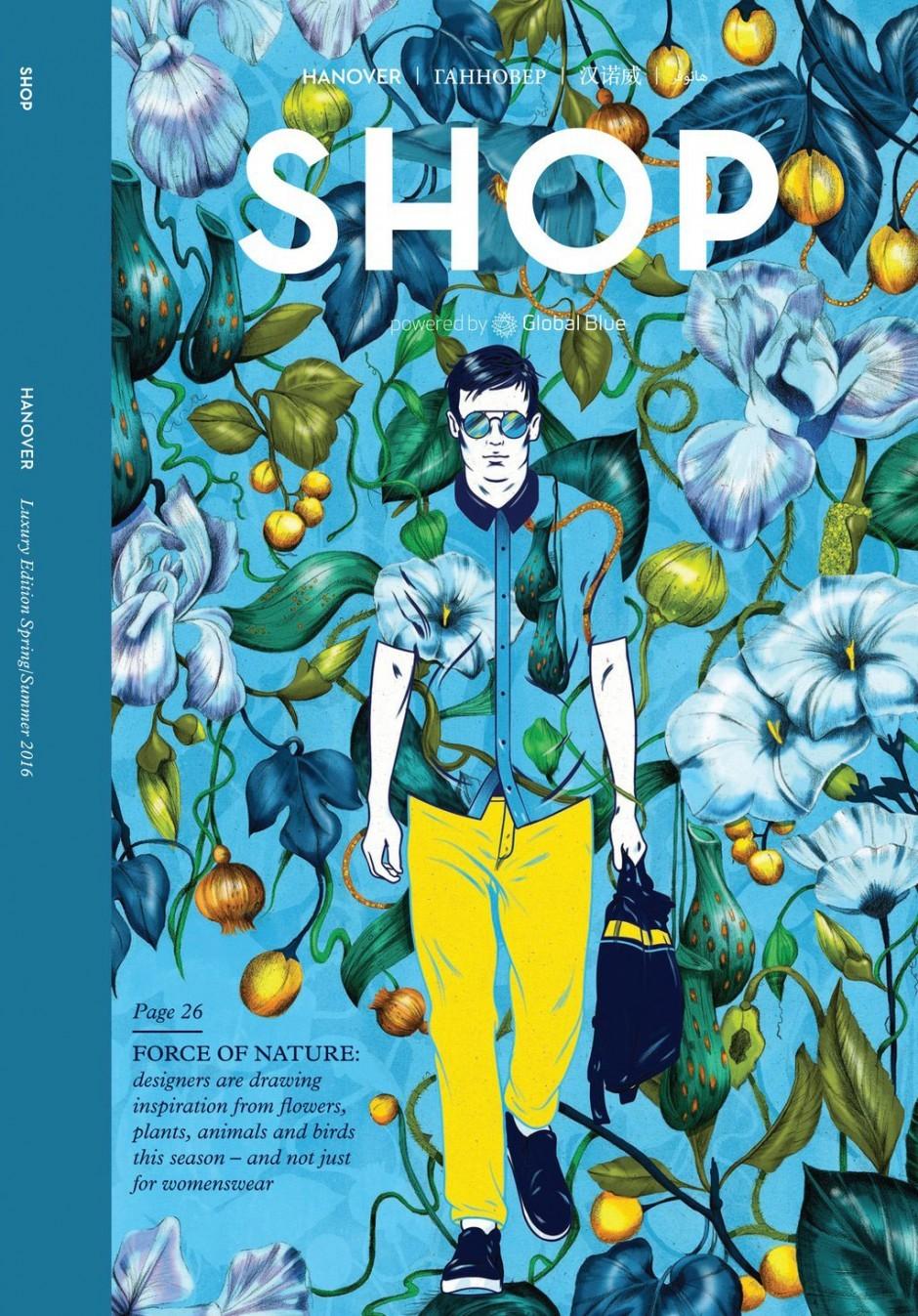 Die Illustratoren des australischen Kreativstudios UNA sorgten hier für einen blumigen Look. www.weareuna.com