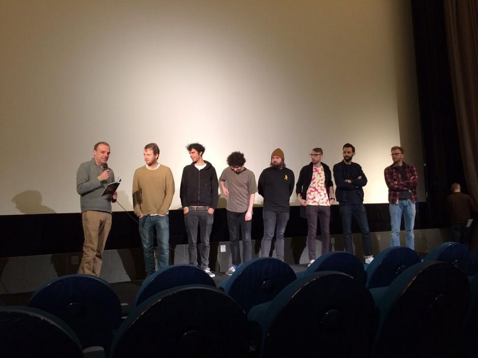 Gesprächsrunde mit den Animations-Künstlern nach dem Screening