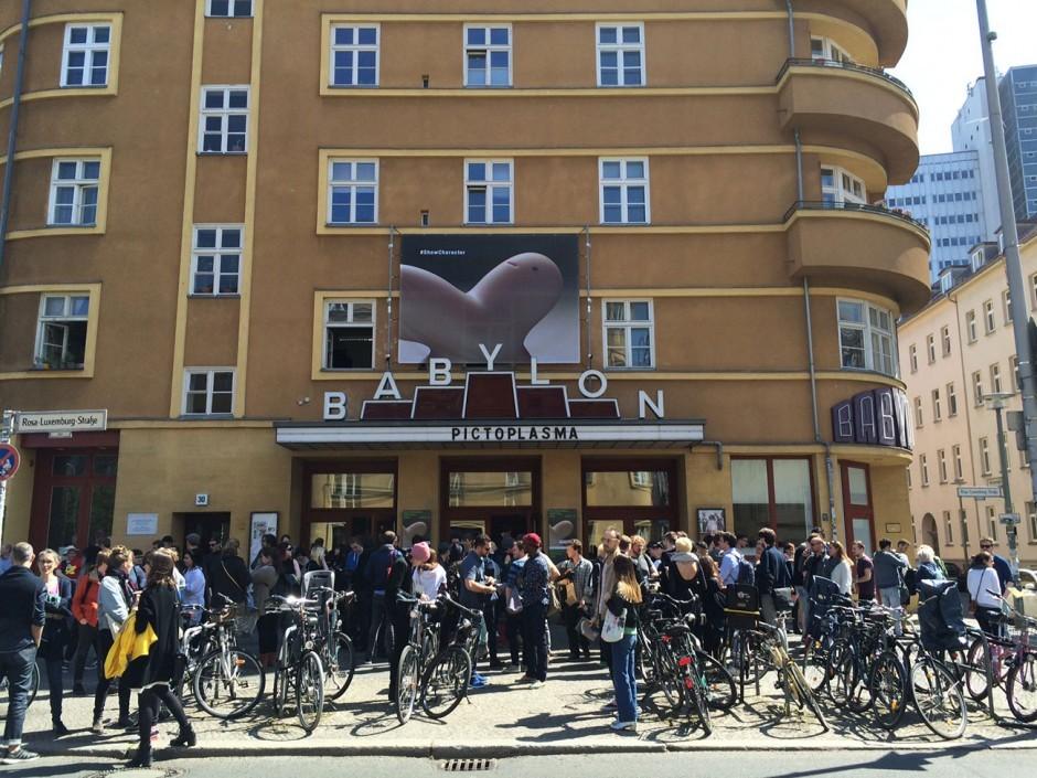 Die Konferenz und das Screening finden im Babylon-Kino in Berlin Mitte statt
