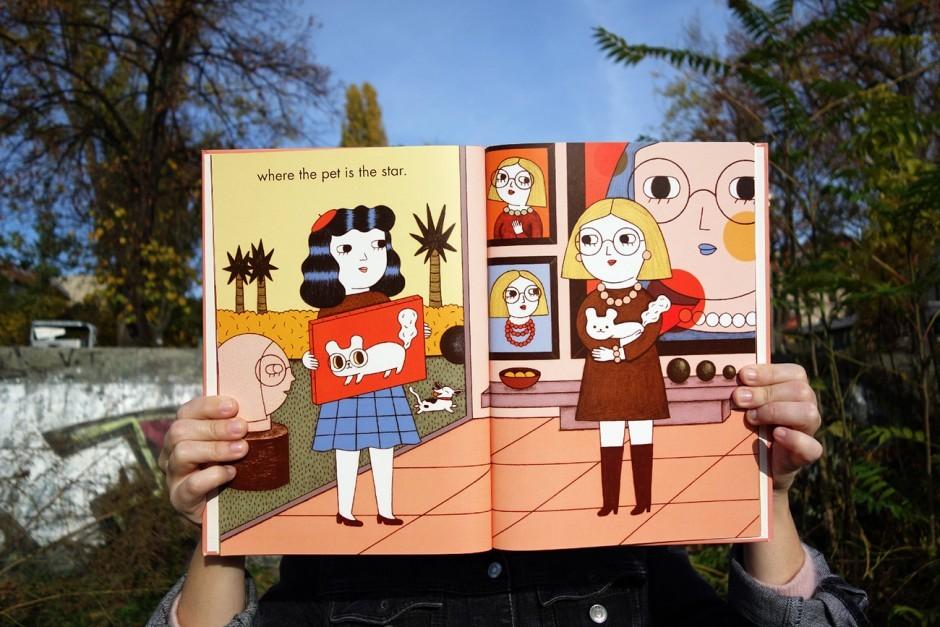 Ana Alberos jüngstes Buchprojekt über Tierporträtzeichnerin Petra – sie sucht dafür noch einen Verlag