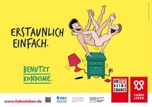 Für die Kreation der Liebesleben - Kampagne ist die Frankfurter Agentur Das Hochhaus in Zusammenarbeit mit dem Hamburger Illustrator Stefan Wirkus verantwortlich.