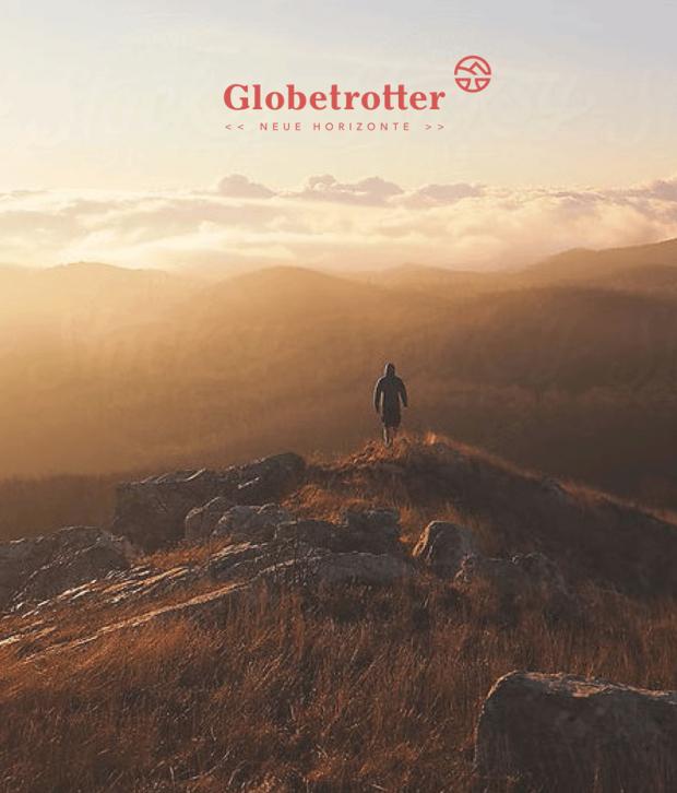 Globetrotter: Anwendungsbeispiel Anzeige
