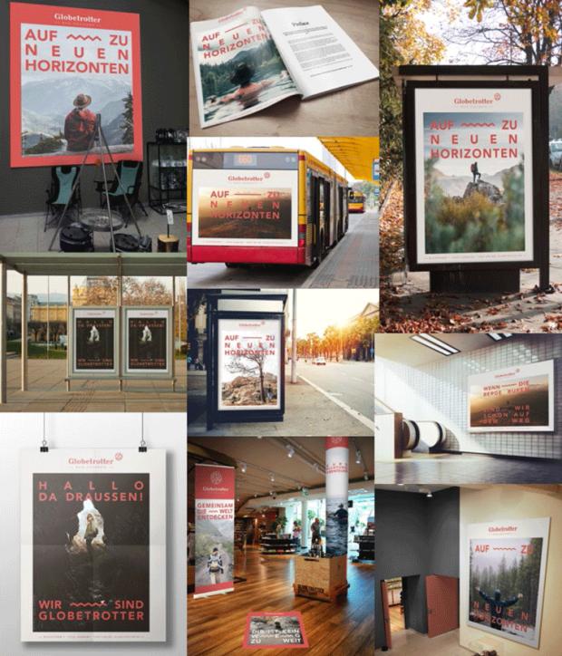 Globetrotter: Die Einbindung von Fotos ist essenziell für das neue Design