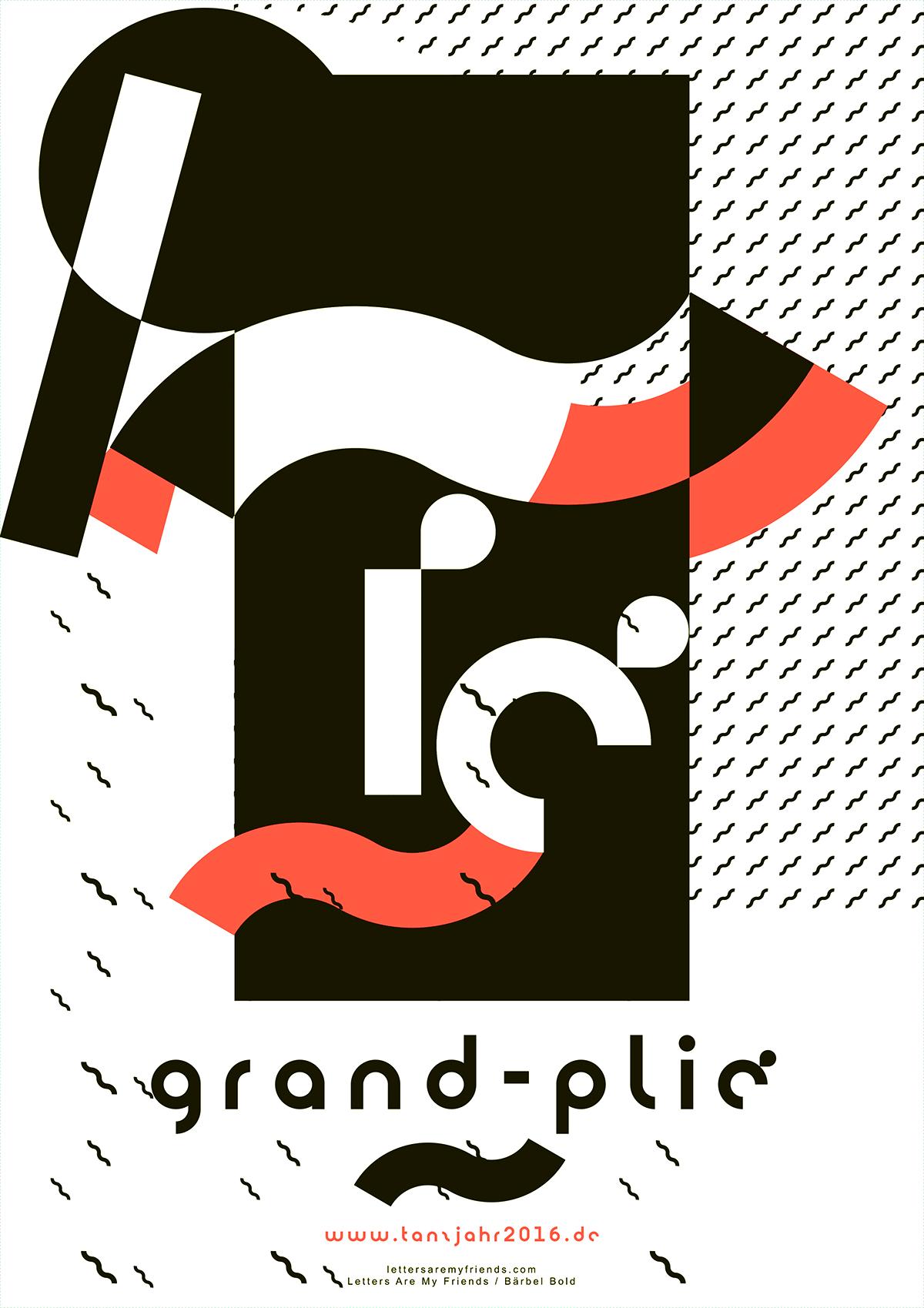 Plakat Design, Tanzjahr 2016