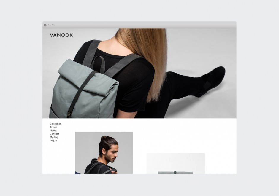 Vanook: Web-shop Design