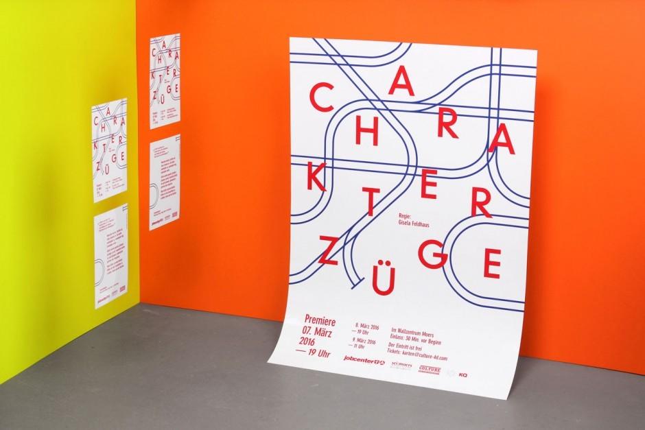 Charakterzüge - Plakat