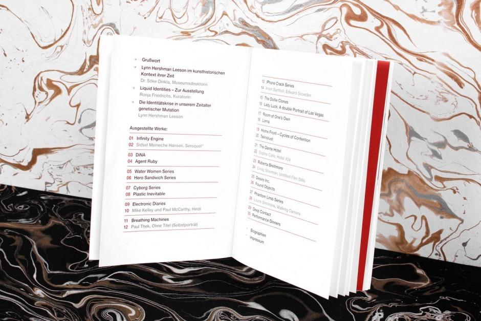 Liquid Identities - Buchgestaltung