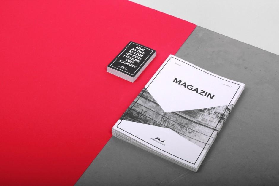 Zukunfstmusik - Magazin und Sticker