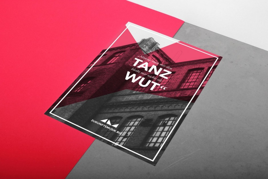 Zukunfstmusik - Plakat