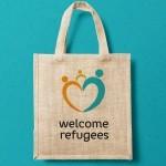 HAWK – Tasche welcome refugees, Pia Wulf