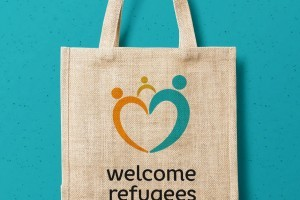 HAWK – Tasche welcome refugees, Pia Wulf
