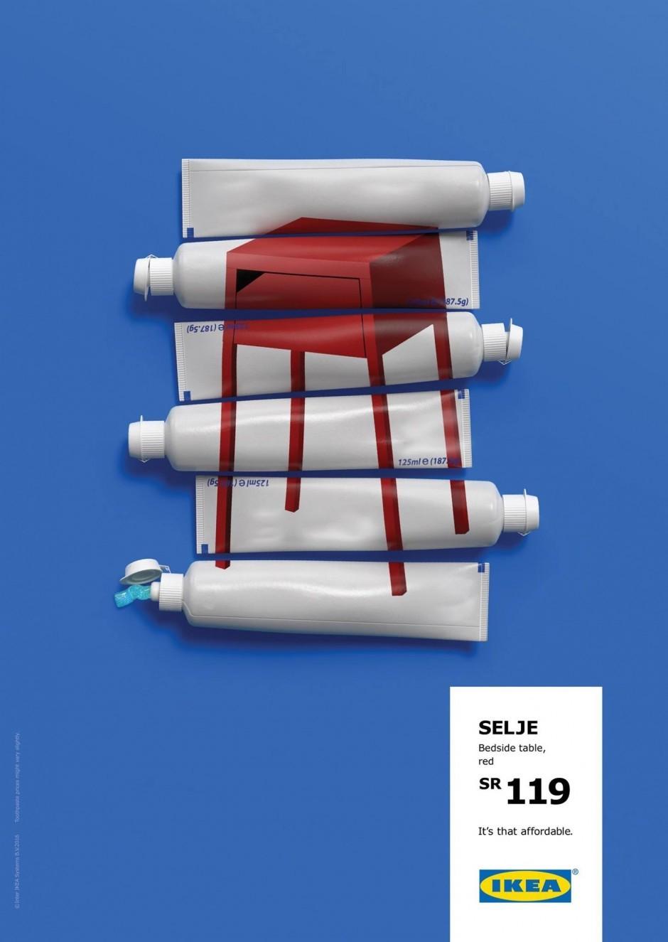 Billige Produkte, edel wirkende Werbung: Diese Ikea-Kampagne hat sich Memac Ogilvy Dubai ausgedacht