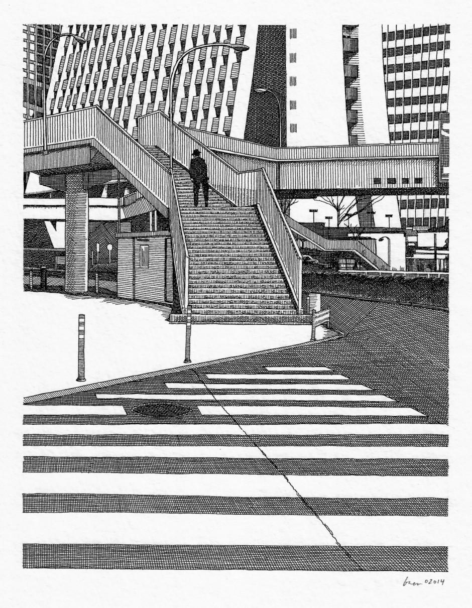 Im Tokioter Stadtteil Shinjuku