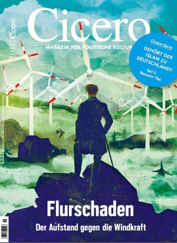 Marco Wagner hat Caspar David Friedrichs berühmtes Gemälde »Der Wanderer über dem Nebelmeer« ein wenig »modernisiert … www.marcowagner.net/
