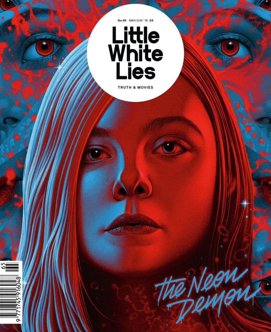 Das Kinomagazin »Little White Lies« machte Ellen Faning aus dem Psychothriller »The Neon Demon« zum Cover-Star. Illustrator war Boris Pelcer. www.borispelcer.com/