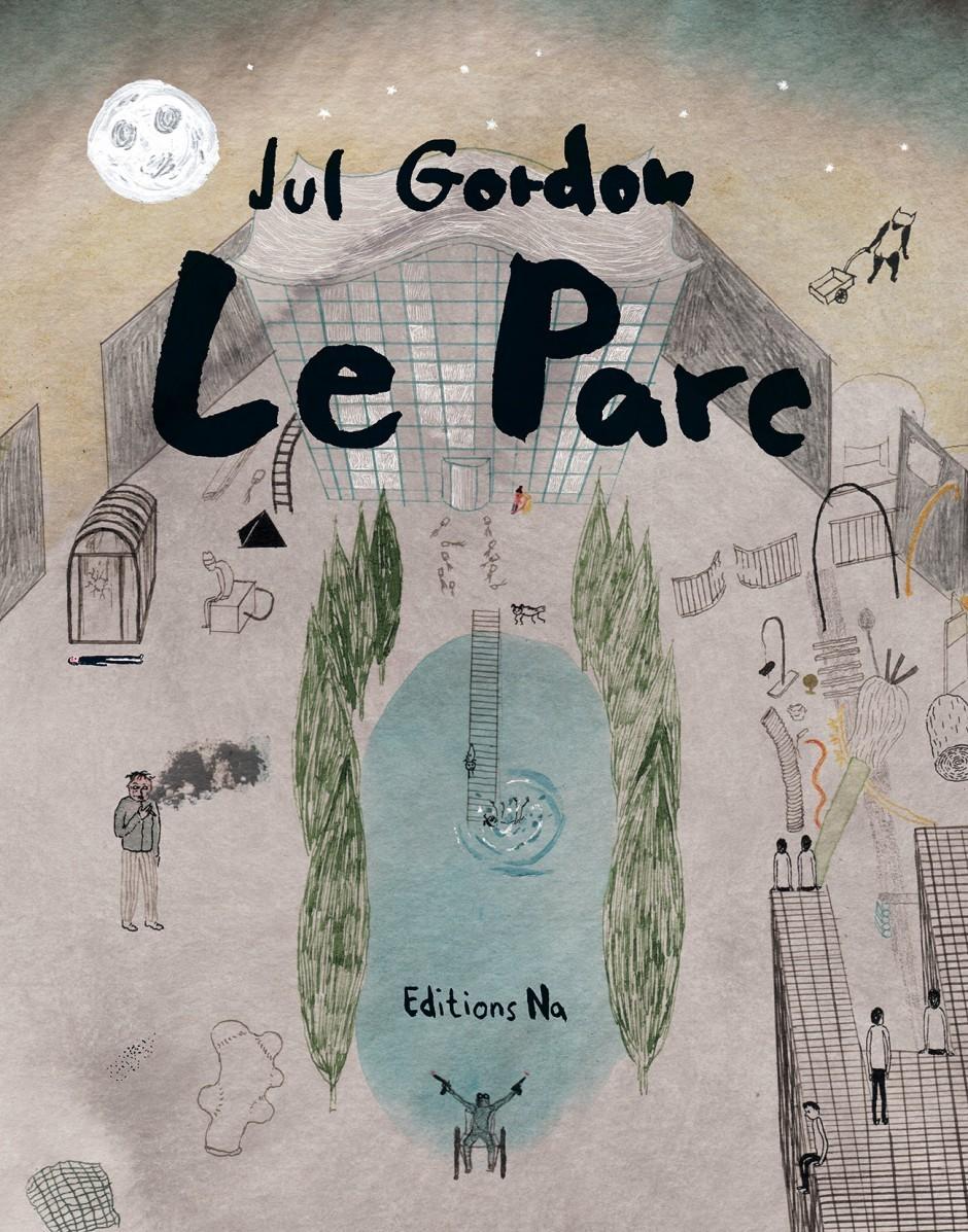 Das Buch Le Parc, erschienen beim Independent Verlag Association Na, Marseille 2016