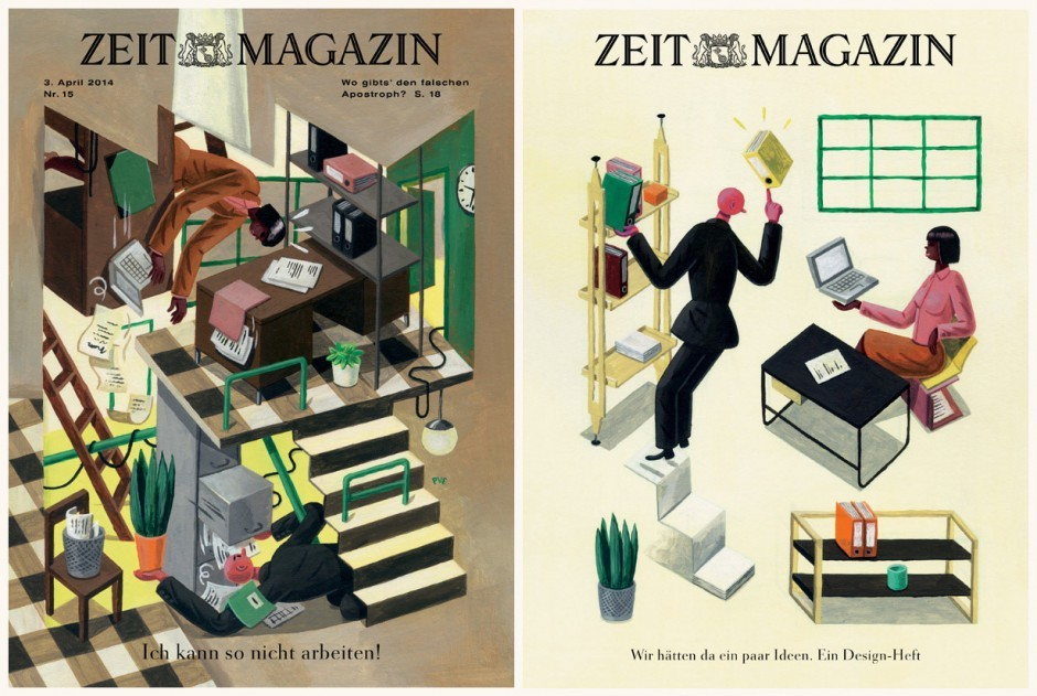 Illustration fürs »Zeit-Magazin«