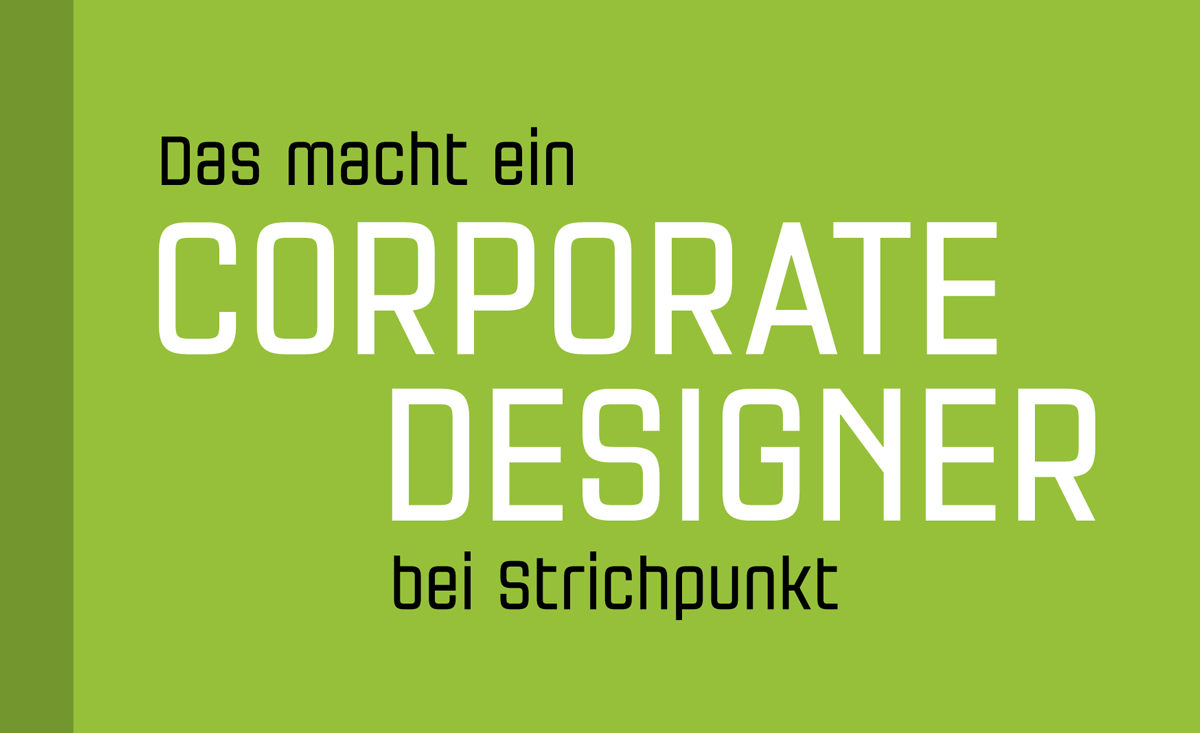 Corporate Design, Strichpunkt